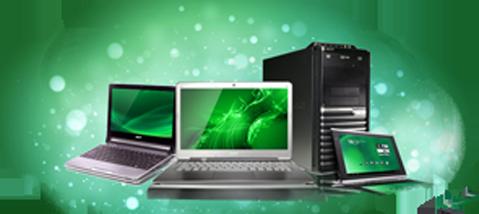 Ремонт компьютеров и ноутбуков в Симферополе. Установка Windows.